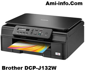 BROTHER DCP-J132W DRIVER TÉLÉCHARGER